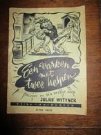 OUD   Boekje  KLUCHT   EEN  VARKEN  Met  Twee  HESPEN  Door  JULIUS  WYTYNCK   P. VINK   ANTWERPEN - Theatre