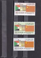 Stamps SUDAN 2009 SC-617 619 DIPLOMATIC W CHINA 50TH ANNIV MNH SET CV$17 # 43 - Sudan (1954-...)