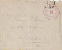 HOPITAL DU SACRE COEUR POITIERS MECANOTHERAPIE - Guerra De 1914-18