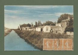 CARTE POSTALE 85 VENDEE CANAL DE CHAMPAGNE LES MARAIS COLORISEE - Other Municipalities