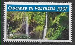 2003 POLYNESIE FRANCAISE 684** Cascades - Unused Stamps