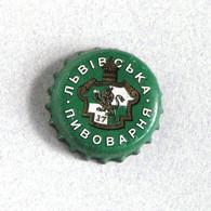 Capsule Bière Brasserie Lviv, Ukraine (crown Beer Cap, Kronkorken, Tappi Birra) - Birra