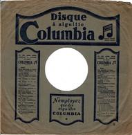 78 Tours - Le Beau Rêve-baccarolle -Stance-mélodie - Disque Columbia + Pochette - 78 G - Dischi Per Fonografi