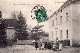 CRESANCEY  Mairie Et Château - Sonstige Gemeinden