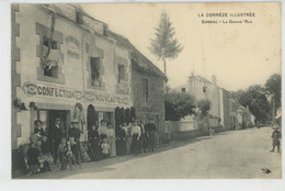 SORNAC - Grand'Rue (belle Animation - Commerce Confection ) - Otros Municipios