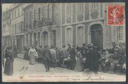 CPA 27 - Pont-Audemer, Rue Sadi Carnot - La Poste - Le Marché Au Beurre - Pont Audemer