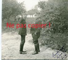2 PHOTOS - LE GENERAL JOFFRE A BEAUDRICOURT - BAUDRICOURT BATAILLE D'ARRAS JUIN 1915 PAS DE CALAIS - GUERRE 1914 1918 - 1914-18