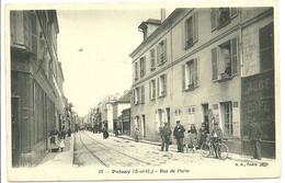 77 SEINE OISE POISSY RUE PARIS ANIMATION A VOIR - Poissy