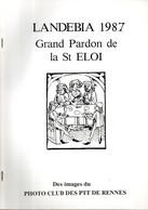Landebia (22) : Grand Pardon De La St Eloi 1987 Par Georges Dussaud - Bretagne