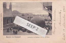 P.K. GRAMMONT / GERAARDSBERGEN Ascension De Ballons à La Grand Place / Opstijgen Ballons Grote Markt - Geraardsbergen