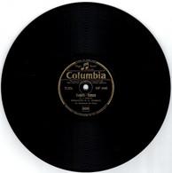78 Tours - POEMA-TANGO - TAHITI-TANGO - Disque Columbia - 78 G - Dischi Per Fonografi