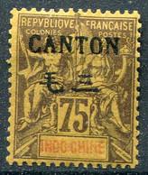 Canton                           N°  30 * - Unused Stamps
