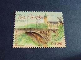 """2000-09  - Oblitéré N°  3627 """"  Pont Adolphe   """"   """"    Ligny En Barrois """"      Net   0.70 - Unclassified"""