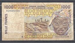 Sénégal 1000 Francs - Senegal