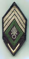 Légion Etrangère - Tissu Modèle 45 - Maréchal Des Logis Chef - 1 Bisque D'ancienneté - Esercito