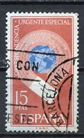 Espagne - Spain - Spanien Exprès 1971 Y&T N°LE37 - Michel N°1937 (o) - 15p Globe Et Courrier - Correo Urgente