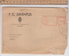 F.C. JUVENTUS  # Busta Viaggiata 28-08-1967 Con Stemma Juventus E Timbro - Calcio