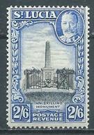 Sainte-Lucie YT N°102 Monument Aux Morts De La Guerre Neuf/charnière * - St.Lucia (...-1978)