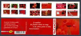 2009 Carnet Adhésif VACANCES -N° BC 315 - NEUF - LUXE ** NON Plié - Commemoratives