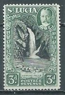 Sainte-Lucie YT N°98 Chutes Ventine Oblitéré ° - St.Lucia (...-1978)