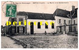 51  Vertus  Mairie Et Gendarmerie - Vertus