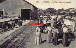 Lourdes - Le Train Blanc Est Signalé - Lourdes