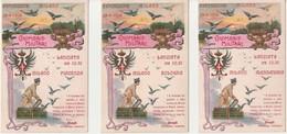 Italia - 28-04-1906 Esposizione Milano -serie Colombaia Militare Illustratore P.Contini - Cartoline (Collezione Di 5) - - 1900-1949