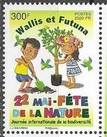 WALLIS ET FUTUNA, 2020, MNH,INTERNATIONAL DAY OF BIODIVERSITY, BIRDS, TREES,   1v - Milieubescherming & Klimaat