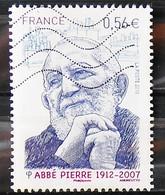 France 2010 - N° 4435 - Abbé Pierre - 2010-.. Matasellados