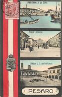 ITALIE PESARO CARTE MULTIVUES - Pesaro