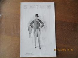 MARSEILLE MAISON G. GOODS AVENUE JULES CANTINI SEPTEMBRE 1913 MODELE MONTAGON LONDON 29cm/19cm - Advertising