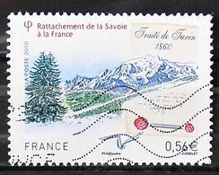 France 2010 - N° 4441 - Rattachement De La Savoie à La France - 2010-.. Matasellados