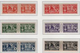 """Egeo - Emissioni Generali 1934 Pacchi Postali """"Soggetti Vari"""" Serie Cpl 11v MNH** - Egeo"""
