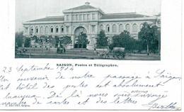 Saïgon - Postes Et Télégraphes En 1904 - Viêt-Nam