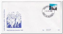 Nederland 1985, Stadspost, Rotterdam Marathon - Unclassified