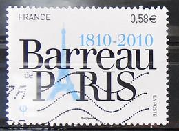 France 2010 - N° 4512 - Bicentenaire Du Barreau De Paris - 2010-.. Matasellados