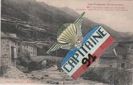 CPA MERENS ARIEGE VIEUX PONT DU COUILLET SUR L ARIEGE - Andere Gemeenten