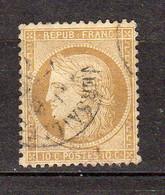 Ceres Dentele Republique Francaise 10c YT 36 - 1870 Besetzung Von Paris