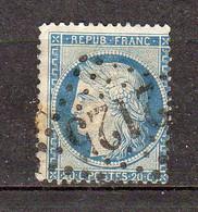 Ceres Dentele Republique Francaise 20c YT 37 - 1870 Besetzung Von Paris
