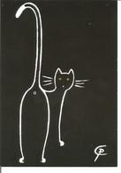 CHAT Dessin Par Catherine Pfister - Gatos