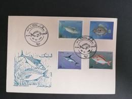 Algérie FDC 1989 Faune  Marine Poisson - Algeria (1962-...)