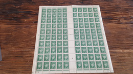 LOT522975 TIMBRE DE FRANCE NEUF**  LUXE  FEUILLE - Full Sheets