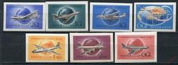 CCCP/URSS/RUSSIE/RUSSIA/ZSRR 1958** MI.2106-08B+2169-71B+2193B**,ZAG.2182-88,YVERT... - Unused Stamps