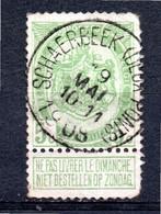 Belgie - Belgique - Schaerbeek (Deux Ponts) - 1893-1900 Thin Beard