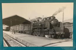Locomotive PO Midi 230 158 Future SNCF 230 F - Photo Gare Train MV - Années 1940 - SNCF Sud Ouest Chemin Fer - Trains