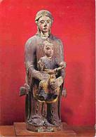 Art - Art Religieux - Paris - Musée Des Thermes Et De L'Hotel De Cluny - Vierge Assise Et L'Enfant - CPM - Voir Scans Re - Paintings, Stained Glasses & Statues