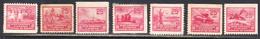 Canada War Savings 1940, Mint Mounted/no Gum, 7 Different, Sc# ,SG - Revenues