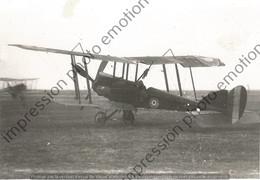 PHOTO AVION RETIRAGE REPRINT    ROYAL AIRCRAFT FACTORY B E 2 - Aviación