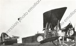 PHOTO AVION RETIRAGE REPRINT     Royal Aircraft Factory R.E.8 RFC B4045 - Aviation