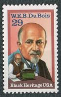 USA Scott # 2617    1992  Black Heritage -  W.E.B. Du Bois   29c    Mint NH  (MNH) - Nuevos